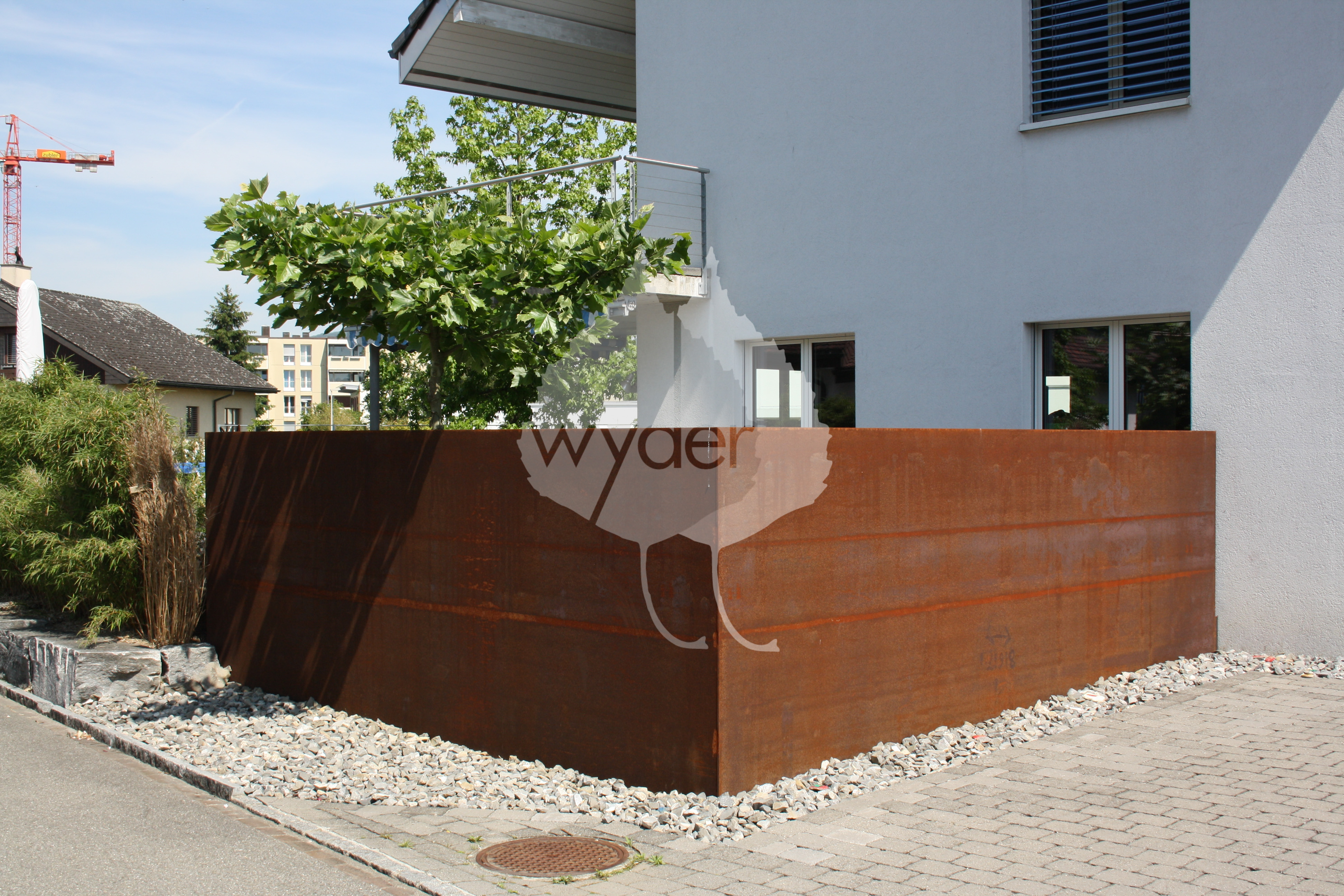 Emejing sichtschutz garten stahl gallery house design for Garten design